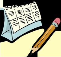 Расписание экзаменов в 2017 году, проект